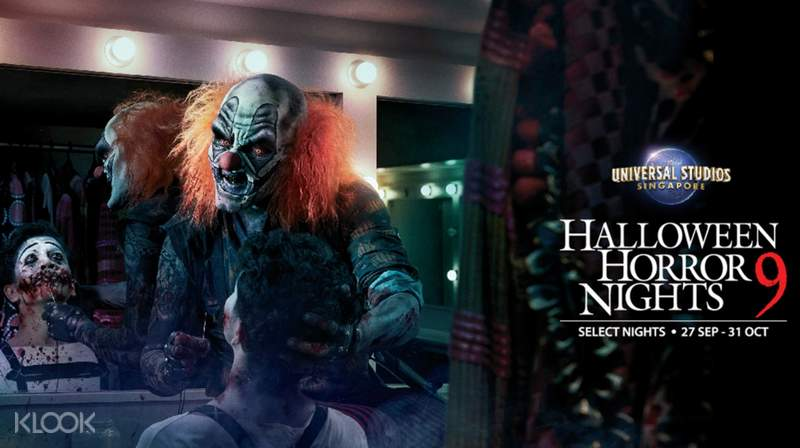 Halloween Fright Night China Movie.Universal Studios Singapore Halloween Horror Nights 9 Ticket