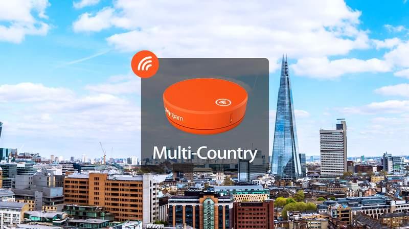 4G WiFi + Powerbank (SG/ UK/ US Pickup) for Worldwide from Skyroam