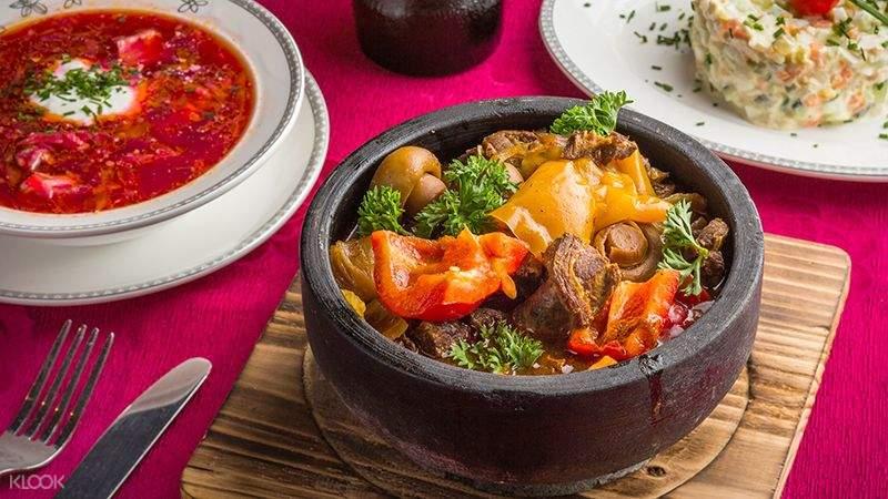 venison and soup from ivan the kozak hong kong