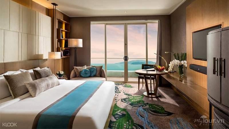 Phòng hướng biển tại khách sạn InterContinental nha trang
