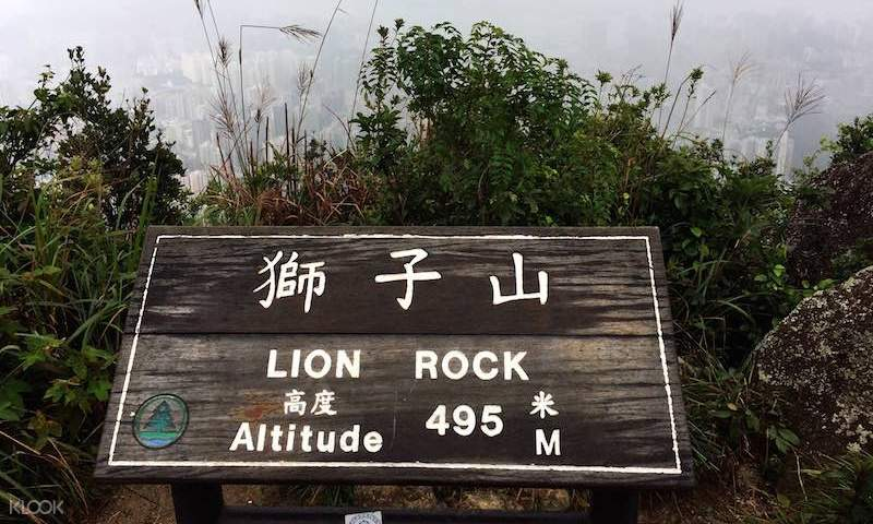 lion rock marker