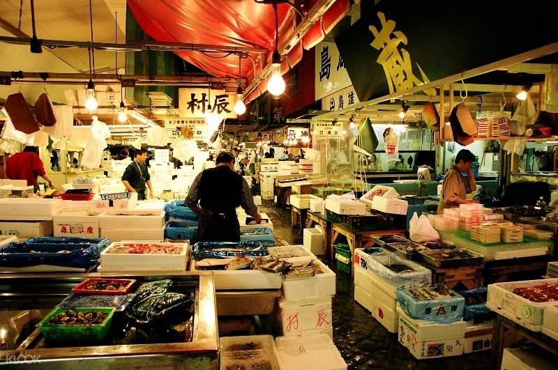 东京拼车游览筑地市场