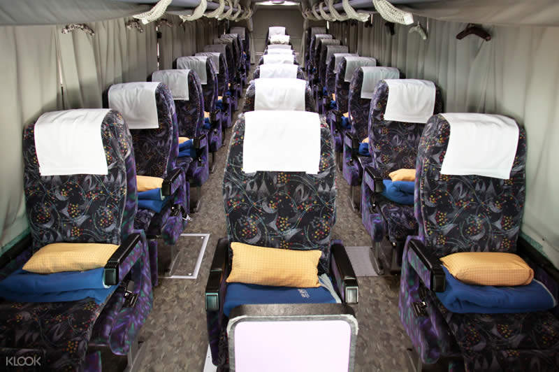 night bus transfers from osaka to tokyo