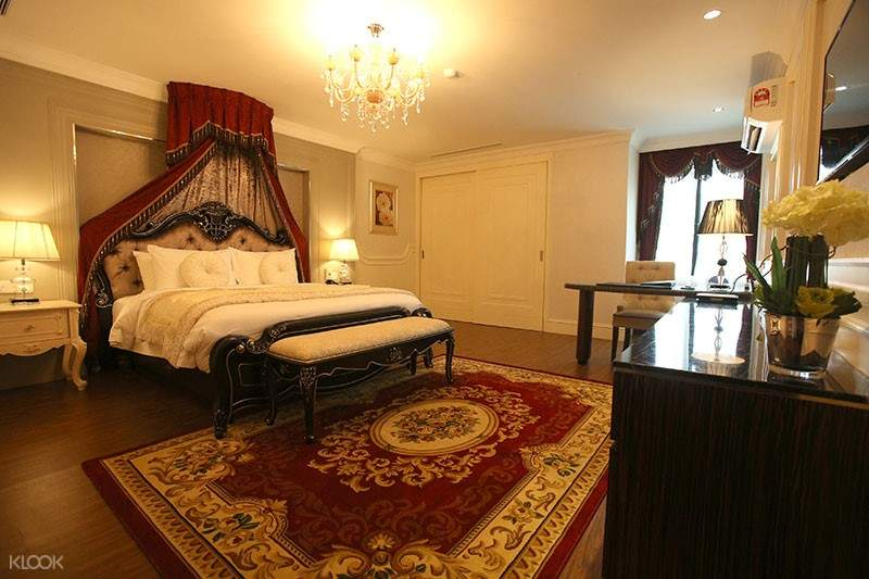 couple bedroom for orchard wellness resort