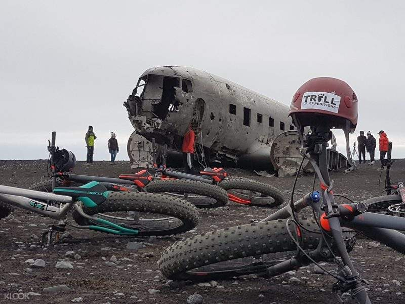 fat bike plane wreck