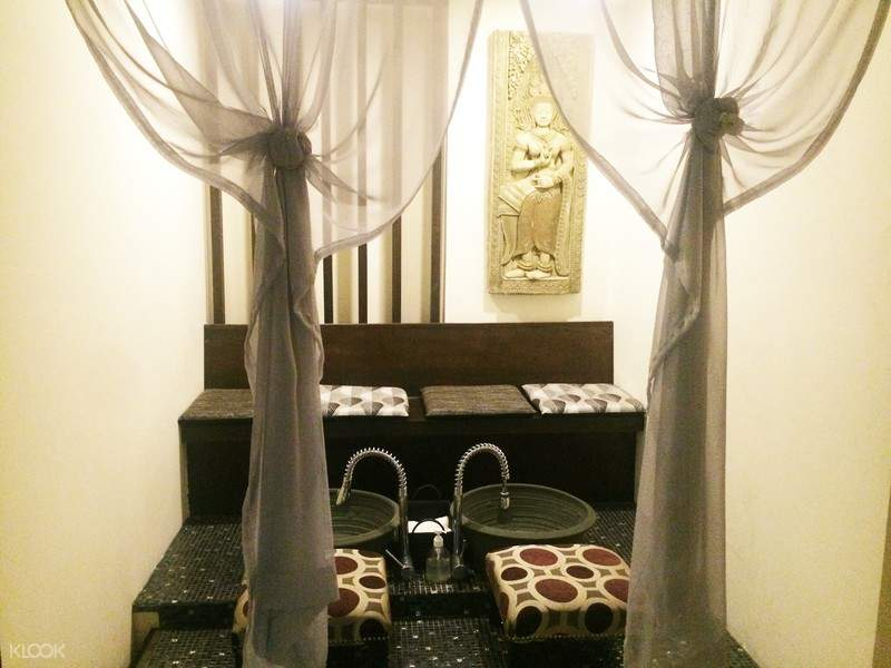 foot wash area baan khun thai coupon cebu