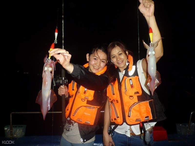 基隆夜釣體驗