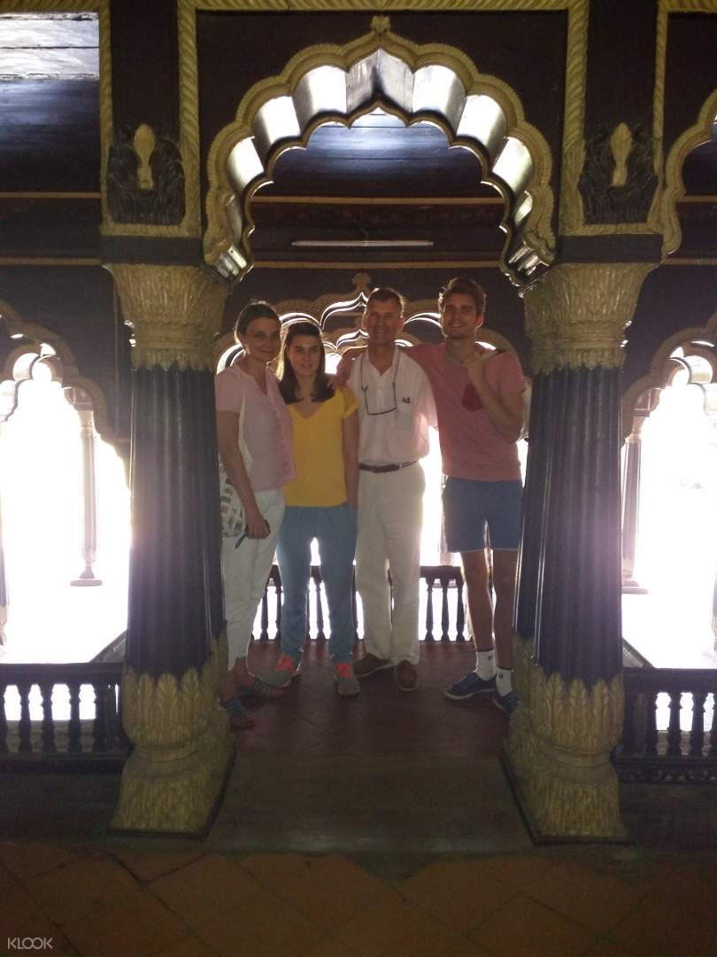 提普蘇丹堡宮殿遺址徒步之旅