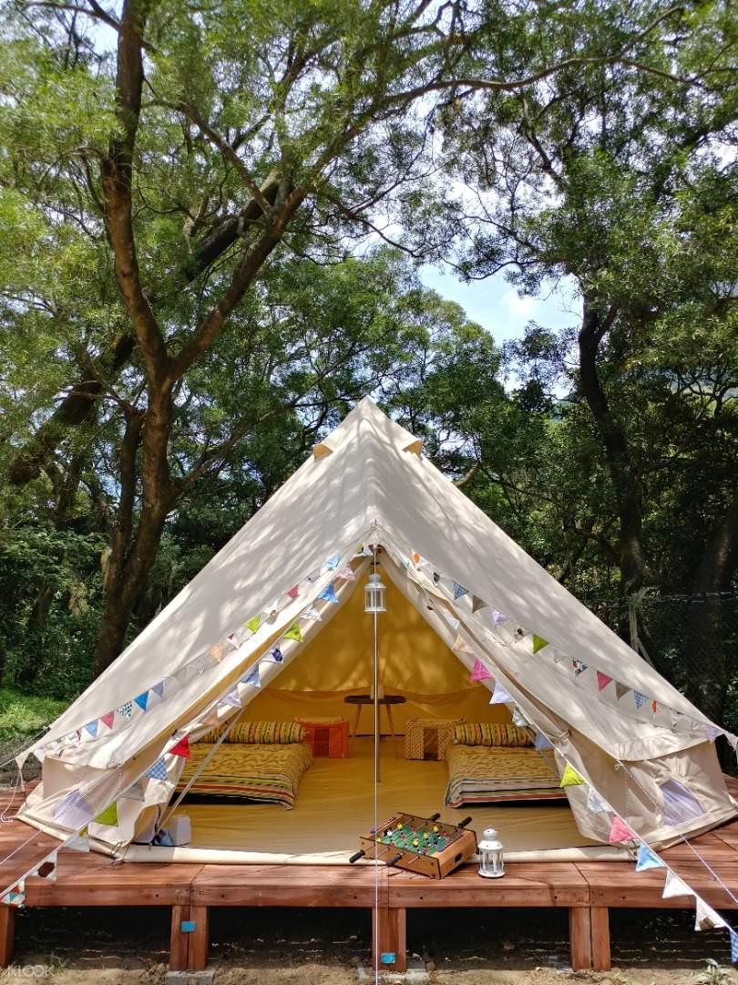 YHA Chek Keng Bell Tent Front