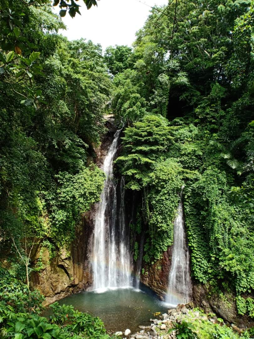 haunted valley waterfall in indonesia