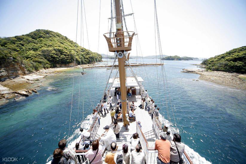 kujukushima sightseeing cruise nagasaki