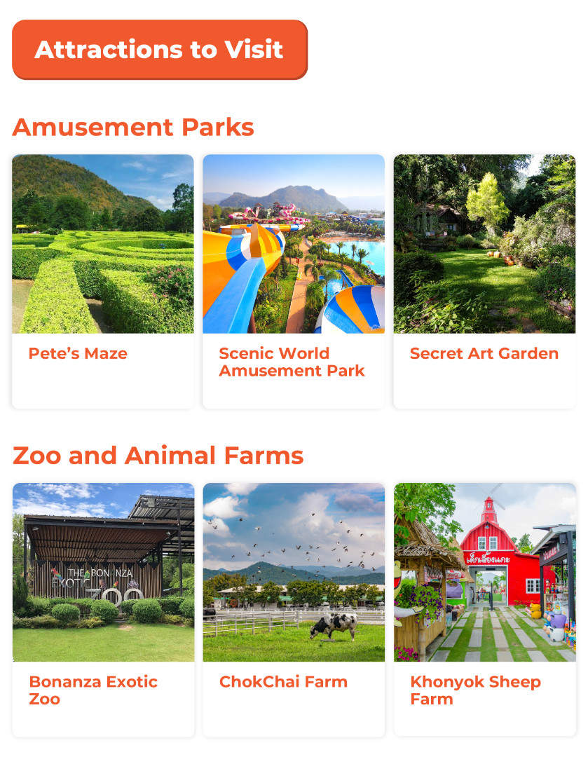 key attractions in khao yai national park