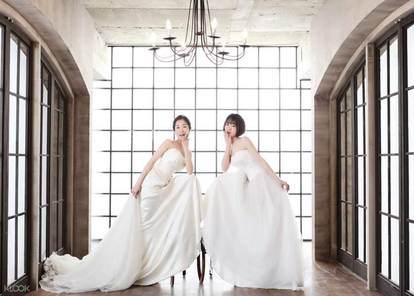 韓國吉安得閨蜜寫真拍攝體驗