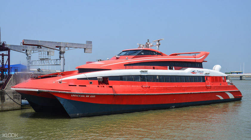 turbojet ferry for hong kong and macau