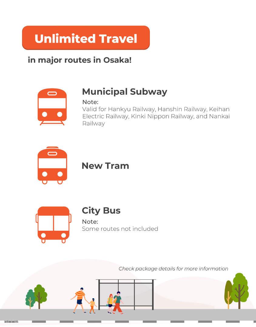 osaka amazing pass inclusive transportation