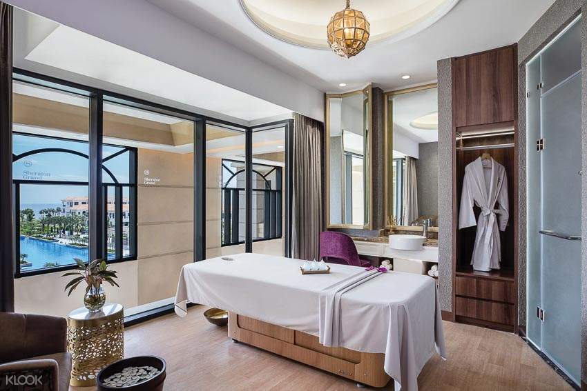 30 minutes of food massage for adult at Shine Spa for Sheraton