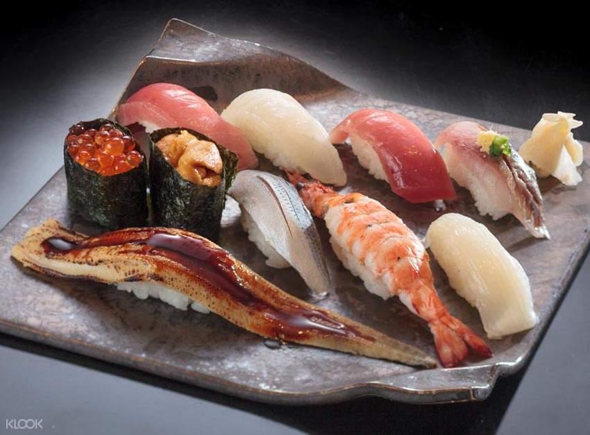 Hassan sushi set