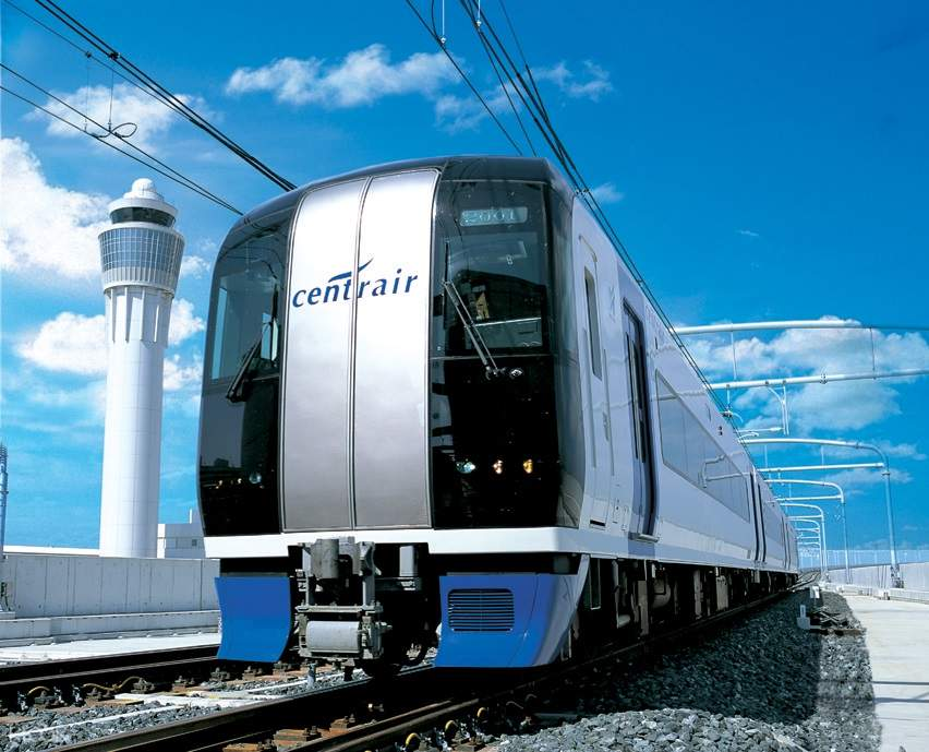 meitetsu train from airport to nagoya