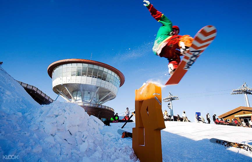 三天兩晚High1度假村私人滑雪教學(首爾出發)