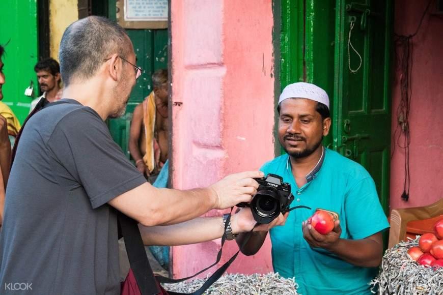 Tourist in Kolkata India