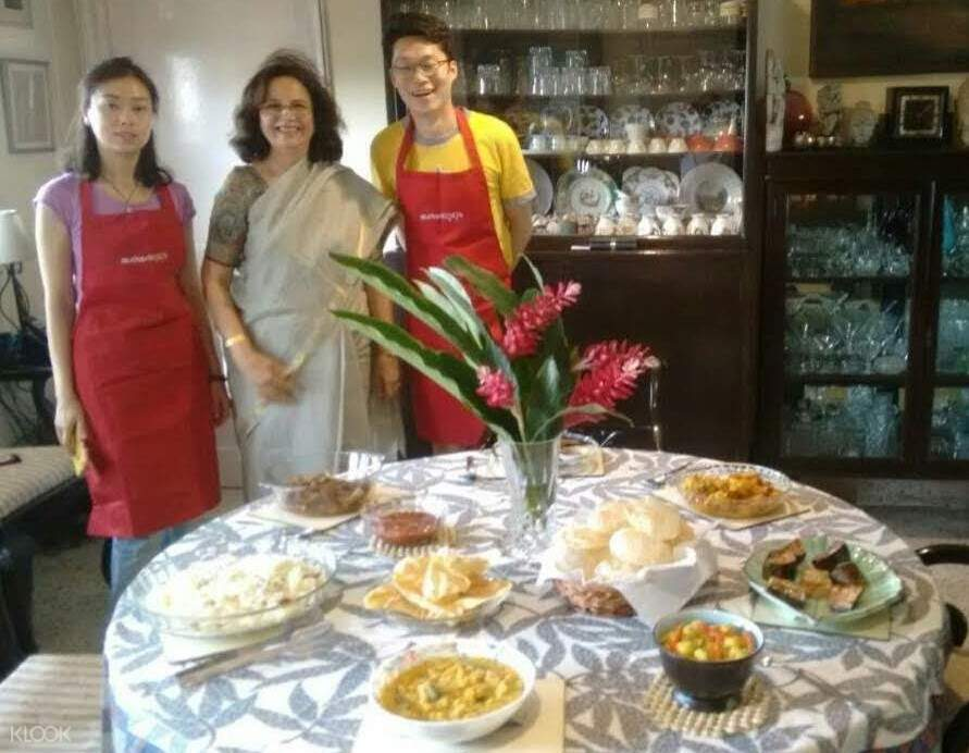 bengali cooking lesson