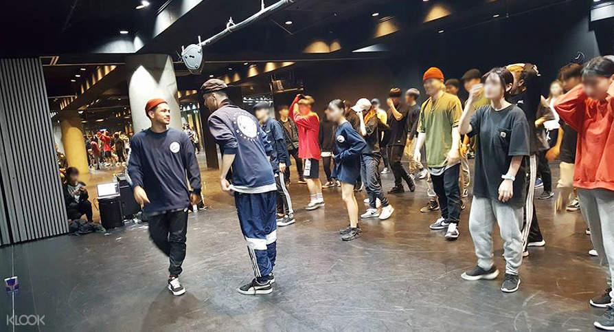 Seoul dance studio