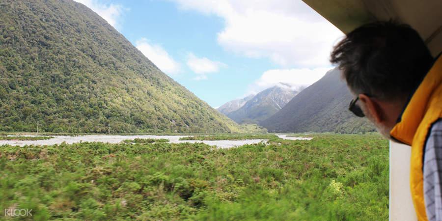 紐西蘭阿爾卑斯山號觀景列車票(基督城 - 格雷茅斯)