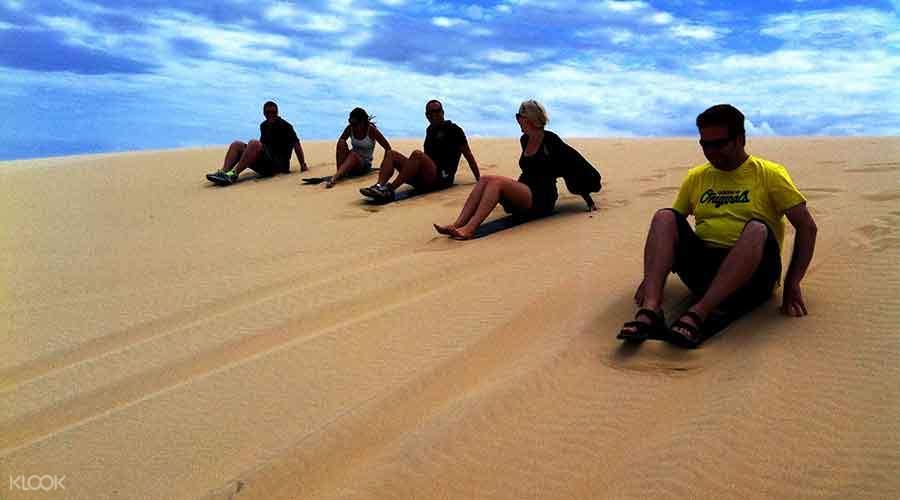 quad bike sand dune adventure