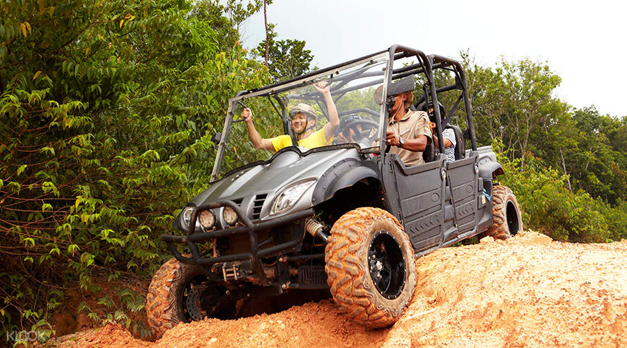utv 4x4 off road trail chill cove bintan