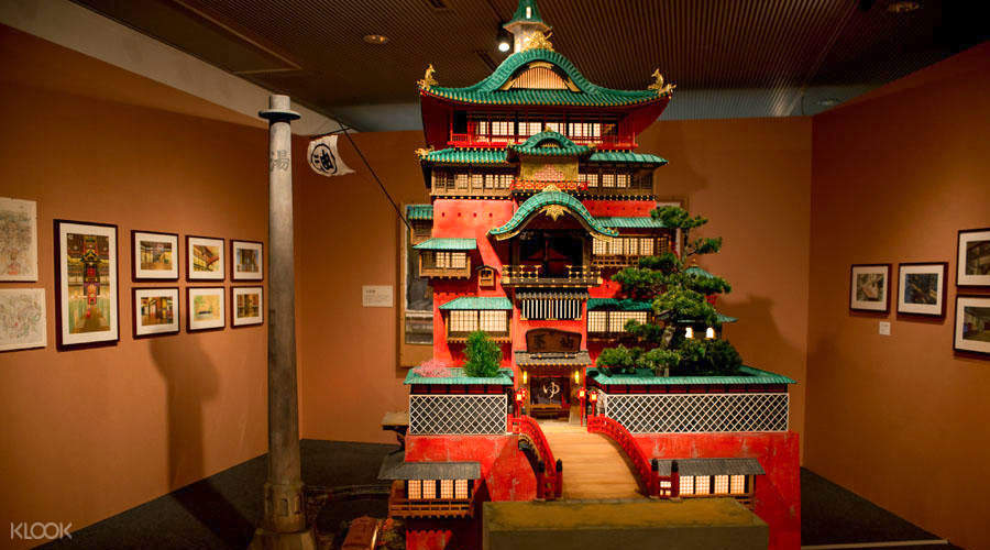 D Architectural Ghibli Exhibition : Studio ghibli architecture in animation ticket osaka