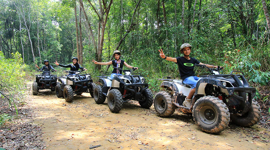 atv trail chill cove treasure bay bintan