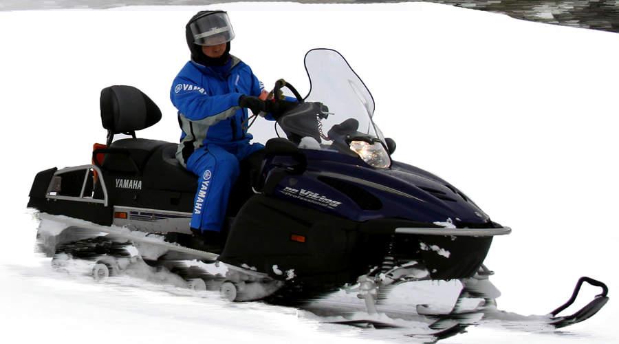 北海道札幌雪地摩托(赠送雪上乐园限时体验)