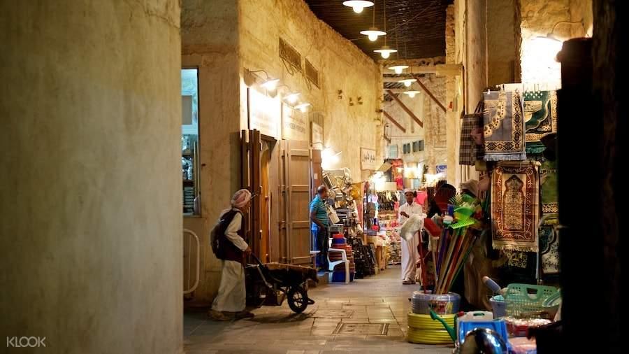 多哈瓦吉夫老市场游览之旅