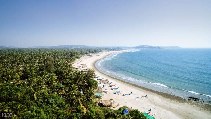 Enjoy the pristine white beach and beautiful seascape of Doc Let