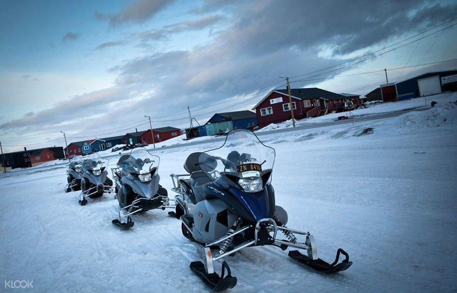 sapporo snowmobile land hokkaido japan