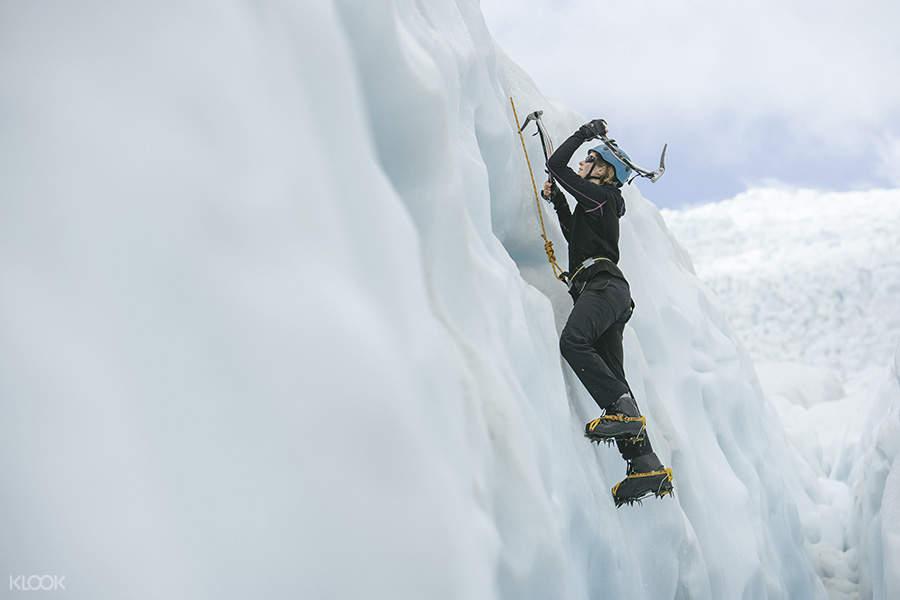 新西蘭攀冰