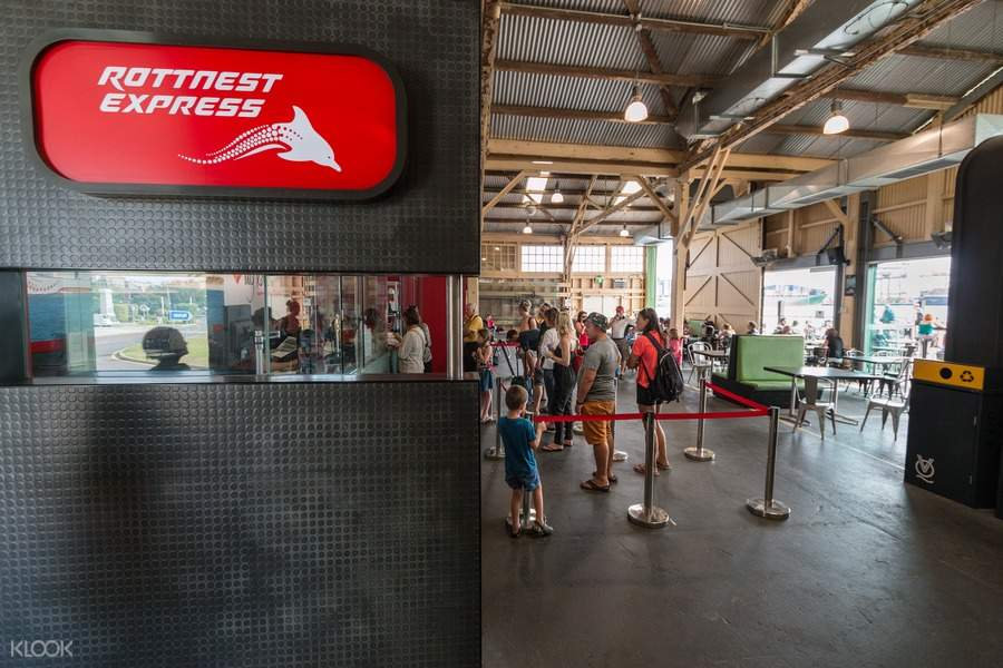 Rottnest Island Ferry Service Barrack Street, Perth Departures