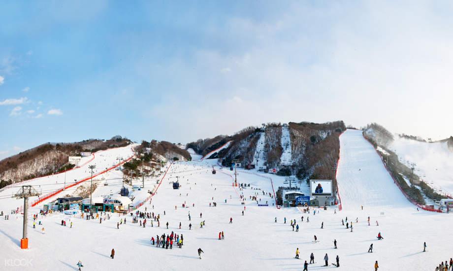 洪川大明Vivaldi Park 滑雪票(含往返接驳巴士)
