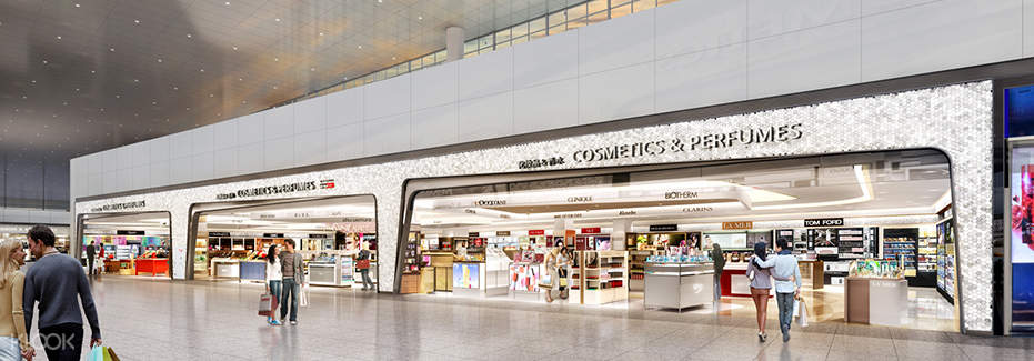 The world's best duty free shopping at the world's best airport