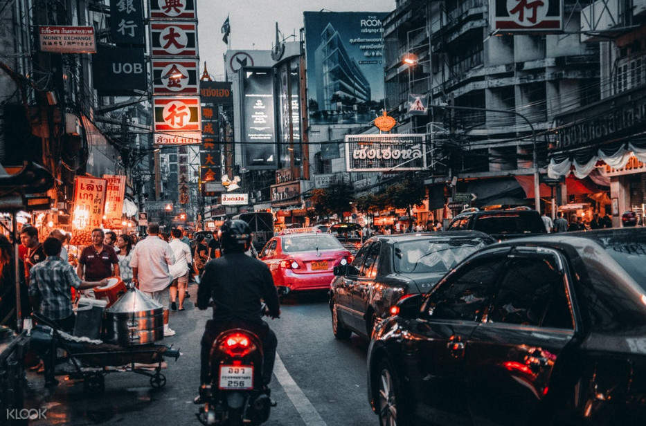 曼谷寺廟自行車騎行一日遊唐人街
