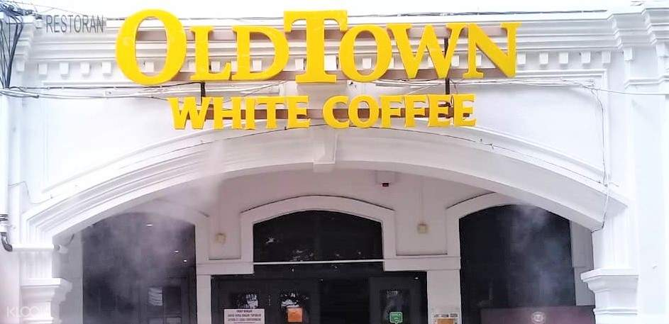 old town ipoh white coffee entrance