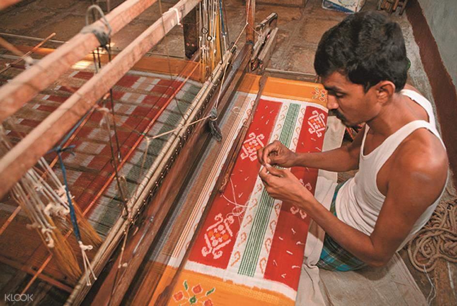 甘吉布勒姆纱丽纺织
