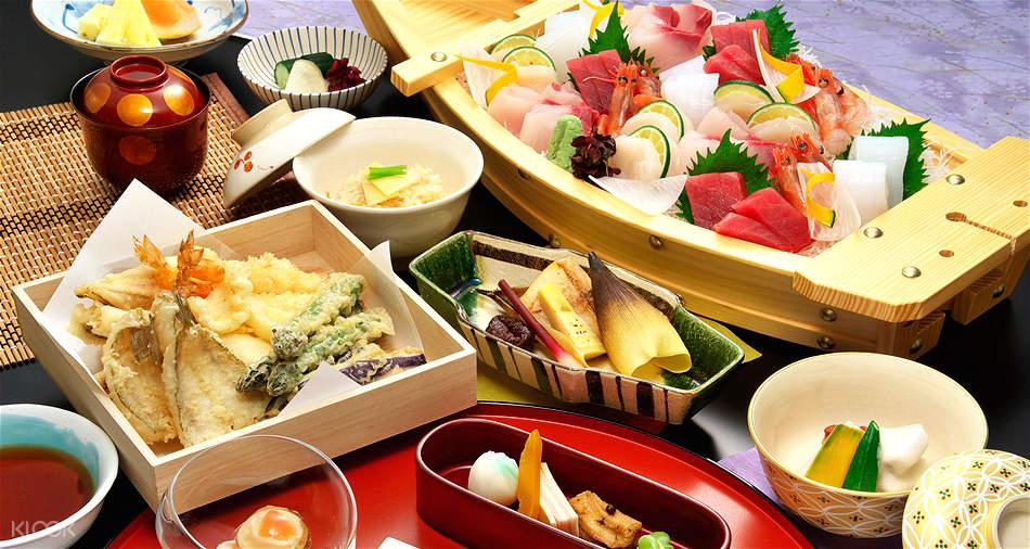 Harumiya sushi and tempura