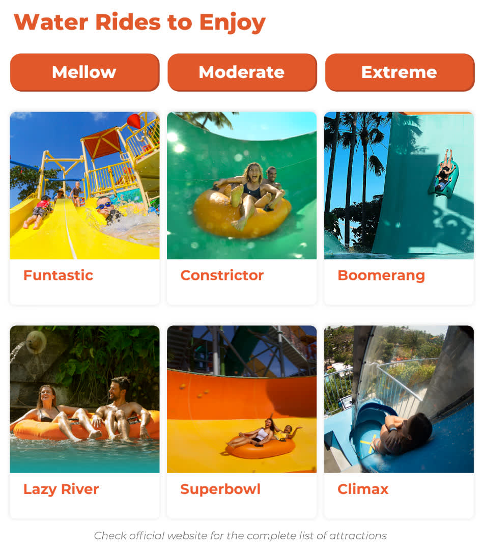 top attraction at waterbom bali