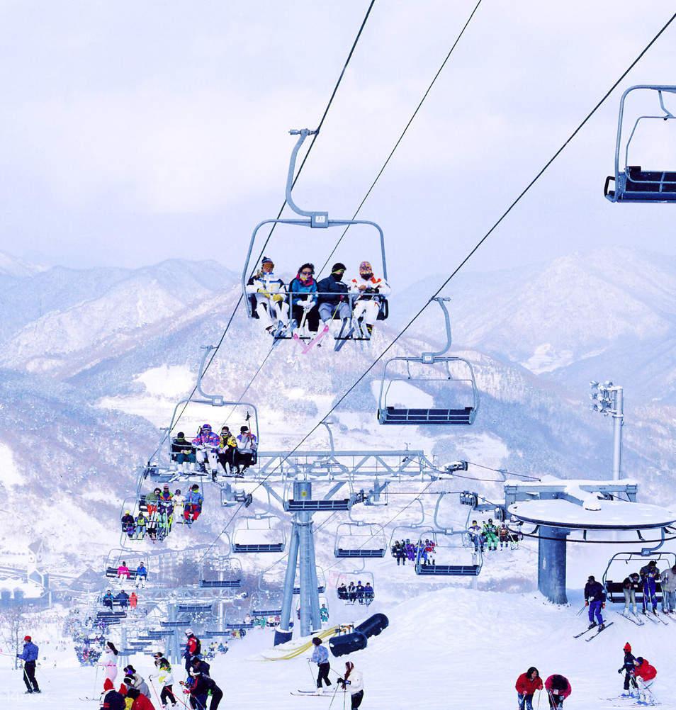 韓國芝山滑雪一日遊