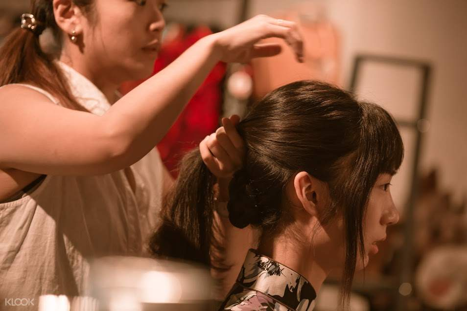 台灣旗袍,台南旗袍體驗,安平旗袍,台灣特色體驗