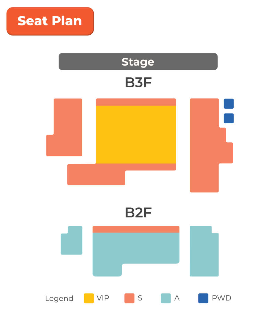 nanta show seat plan