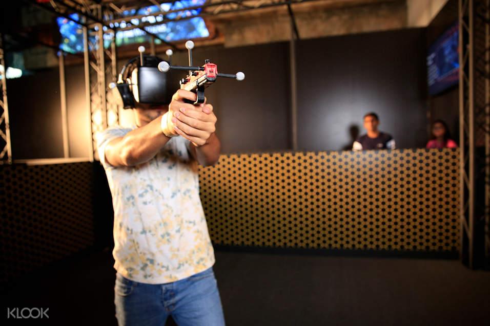 迪拜HUB ZERO VR主題遊戲公園門票