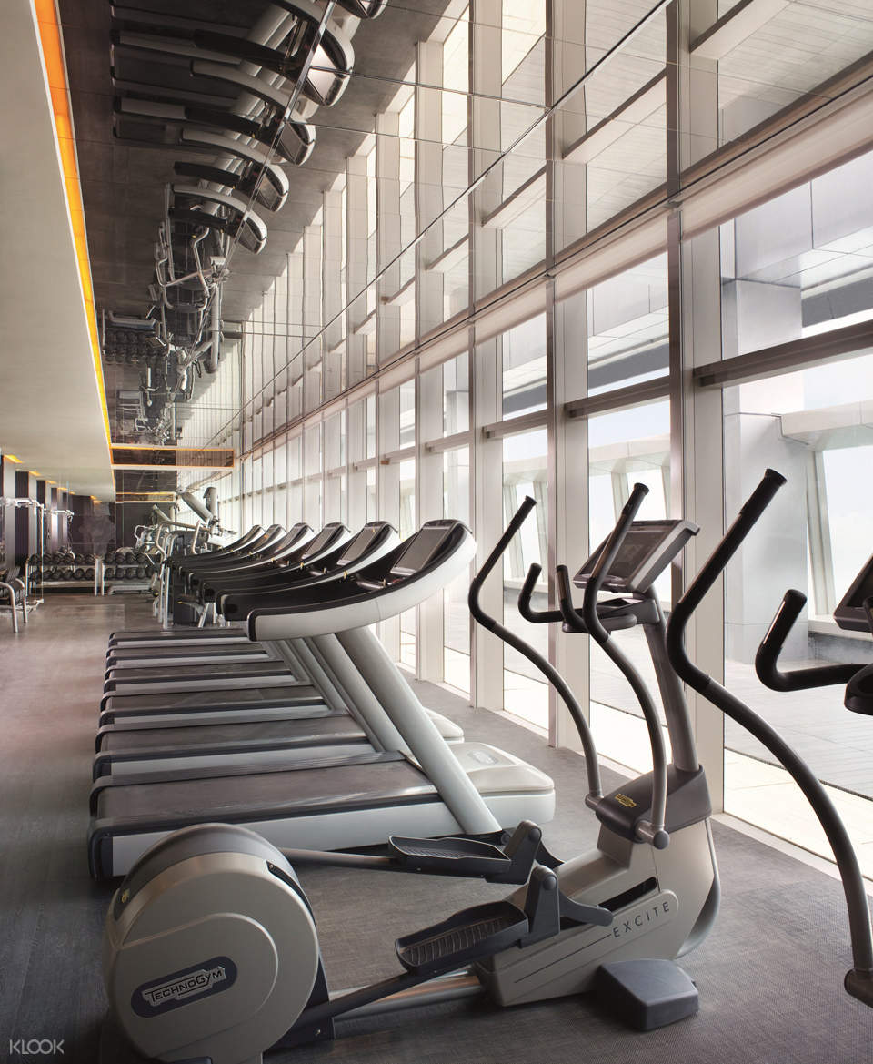 香港麗思卡爾頓水療中心健身房