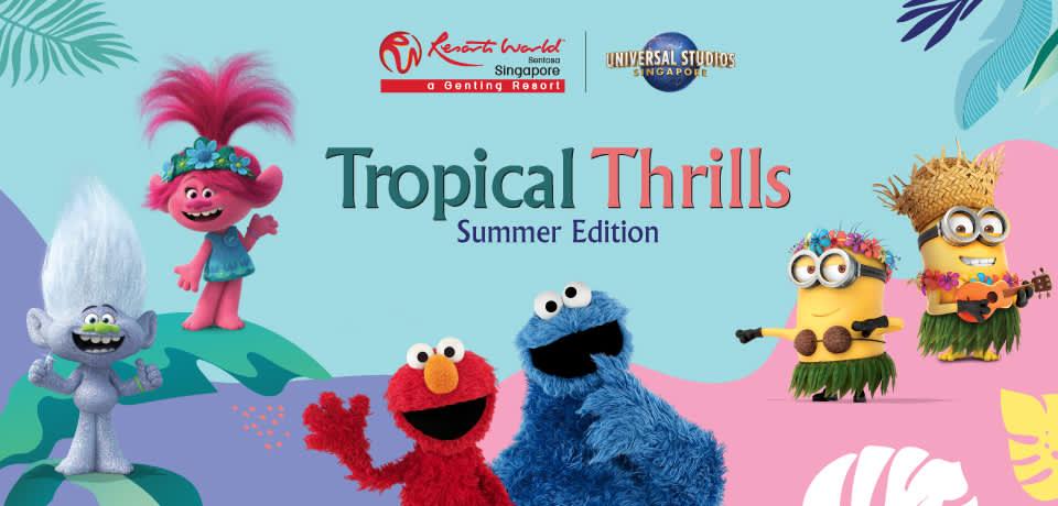 tropical thrills banner